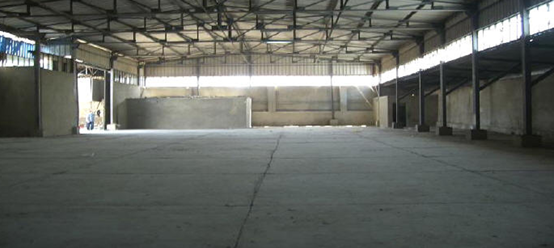 Renovation and Strengthen the Roof of the Transport Workshop