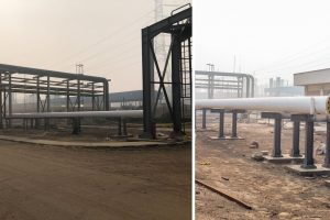 InterConnecting Gas Pipeline with the New Unit (E1) at West Cairo Power Plant
